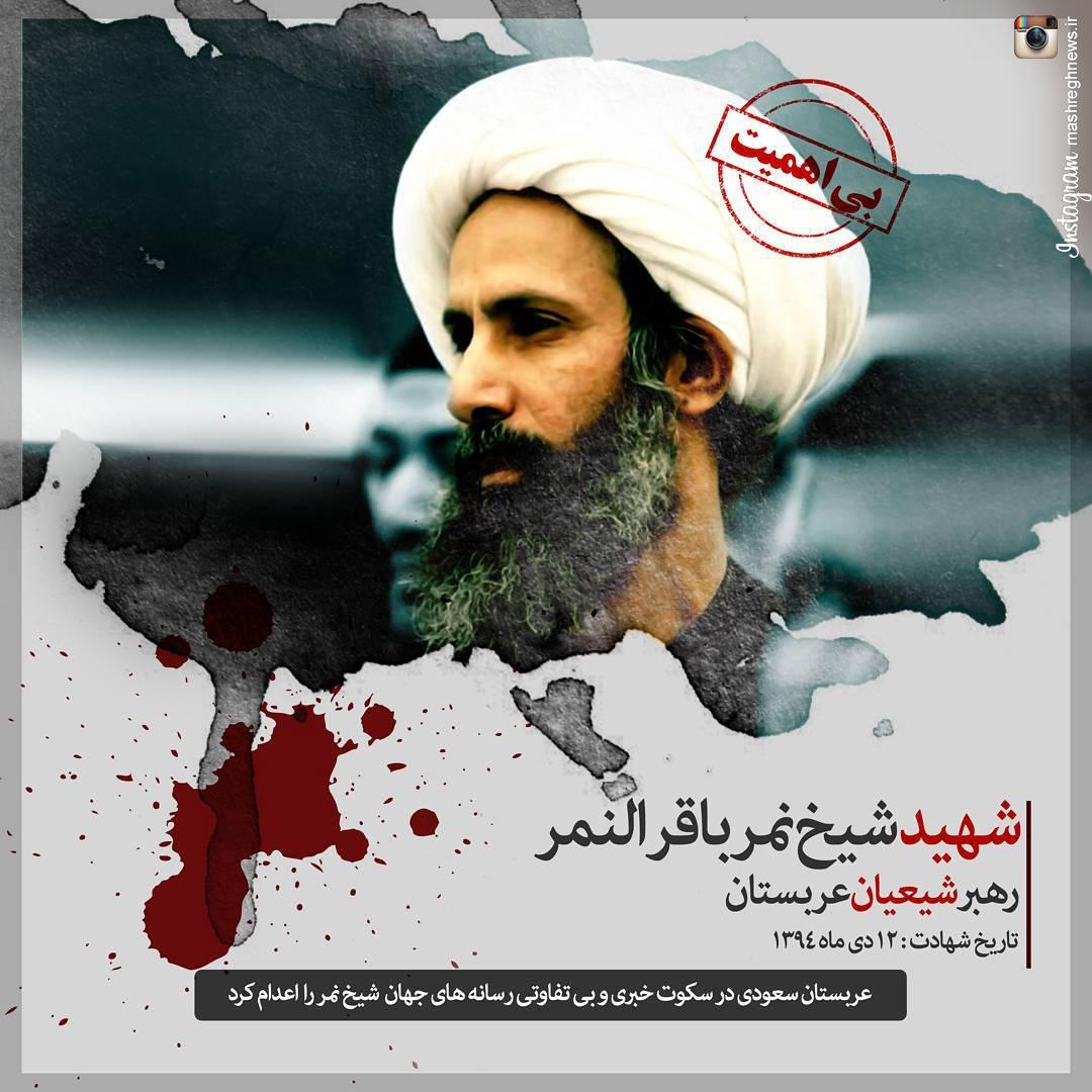 عکس/ «شیخ نمر» اهمیت ندارد!