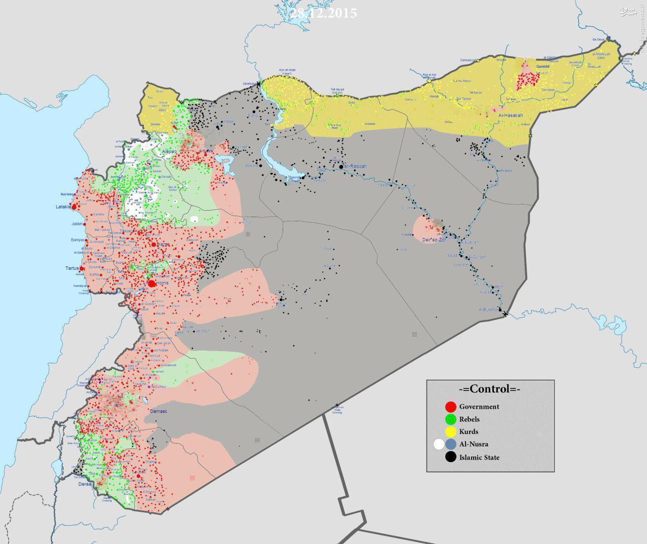 نقشه کامل تحولات میدانی سوریه/ نگاه کلی به اوضاع سه جبهه عملیاتی و اهمیت آزادسازی هر کدام از مناطق/اولین پیروزی ارتش سوریه در قنیطره +فیلم و عکس