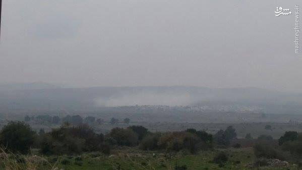 تجاوز نظامی اسراییل به جنوب لبنان+تصاویر