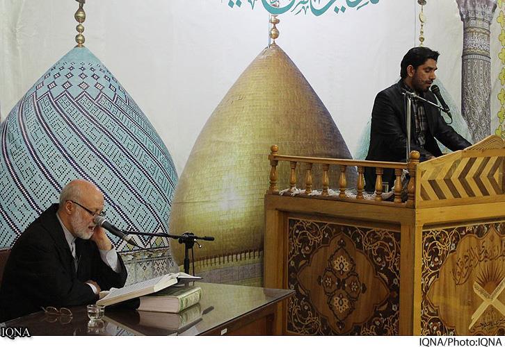 نخستین قاری مساجد پکن+ عکس