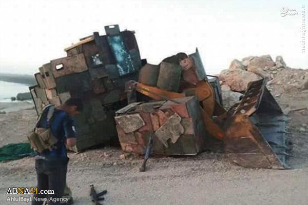 بولدوزر؛ سلاح جدید داعش + عکس