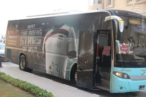 عکس/ اتوبوس تیمملی امید با طراحی جالب