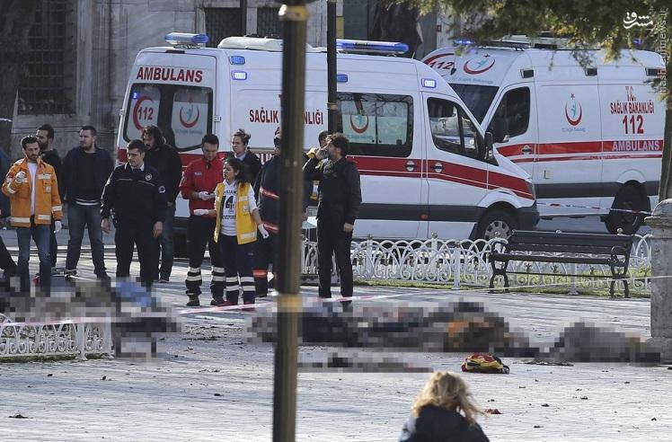 انفجار یک زن انتحاری در استانبول/ 25 کشته و زخمی تا کنون + تصاویر و فیلم