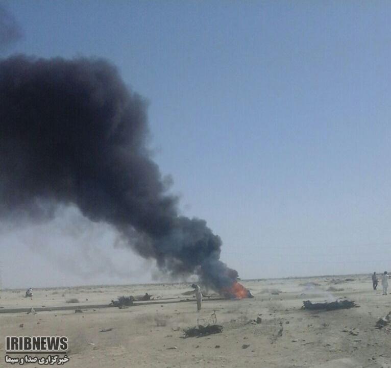 عکس/ سقوط اف 4 در کنارک