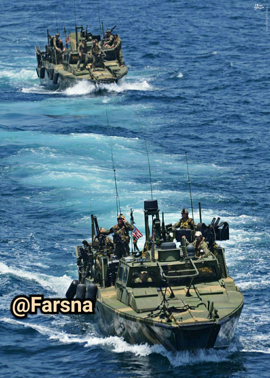 عکس/ نمونهای از شناورهای توقیف شده آمریکا توسط سپاه