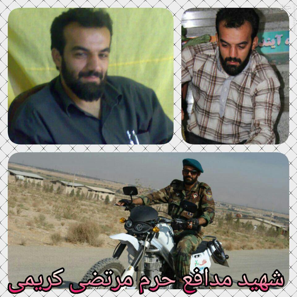 چند عکس جدید از شهید مدافع حرم «مرتضی کریمی»