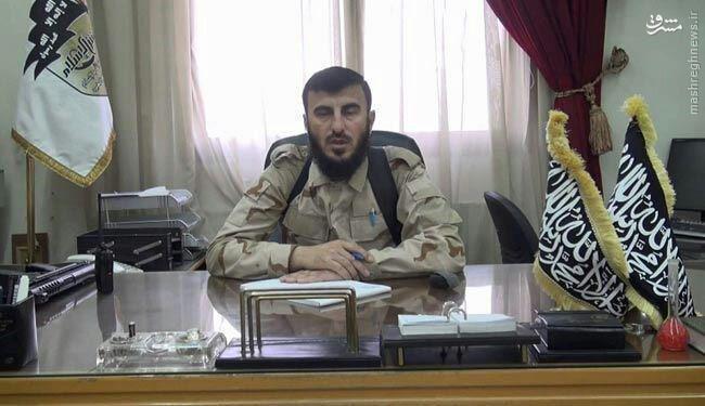 عکس/ میز کار فرمانده تروریستهای جیش الاسلام
