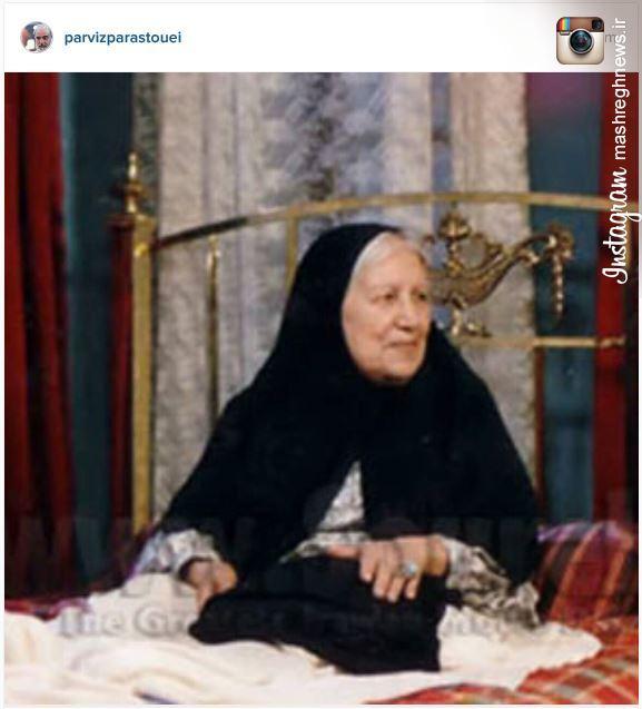 عکس/ پست اینستاگرامی پرستویی درمورد «مادر»