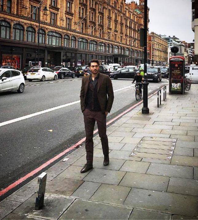 عکس/ آرزوهای علیرضا حقیقی در لندن