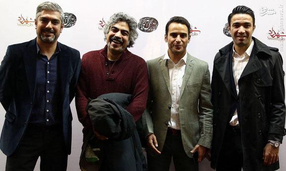 شب پرحاشیه فوتبالیها در کنار هنرمندان +عکس