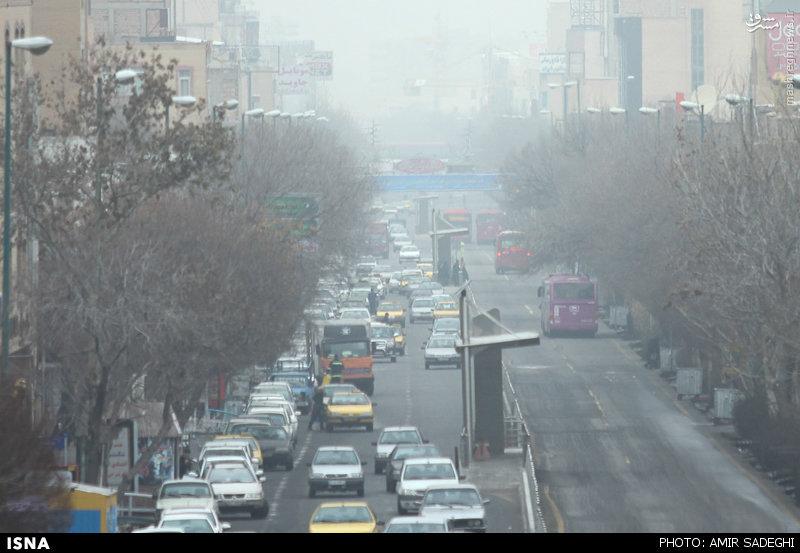 کیش و مات خانم ابتکار در مقابله با بحران آلودگی هوا + تصاویر