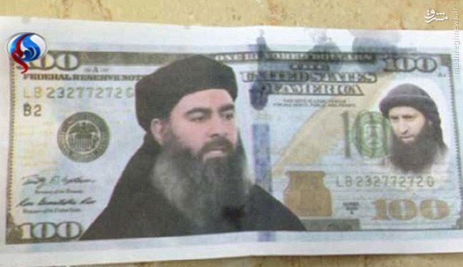 راز دلارهای منقش به عکس «البغدادی» در الجلیل +عکس