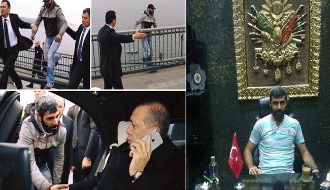 کمدی رسوایی اردوغان روی «پل بُسفر»
