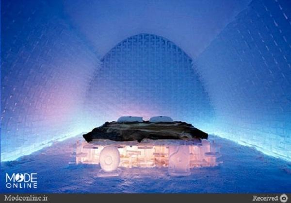 عکس/ میهمان این هتلهای یخی باشید