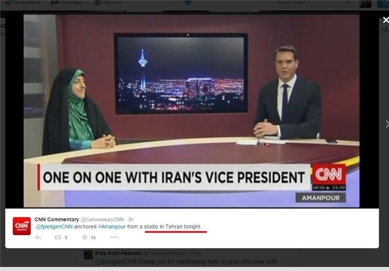 آیا سی?ان?ان در ایران دفتر دارد؟