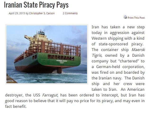 سپاه از کشتی مارسک برای ارسال پیام به آمریکا استفاده کرد/یافتن آپارتمان در تهران به اندازه لندن یا نیویورک دشوار است
