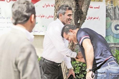 عکس/ دایی قربانی جدید شوخی عابدزاده