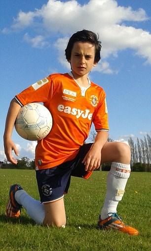 باشگاههای بزرگ اروپا به دنبال پسر11 ساله+عکس