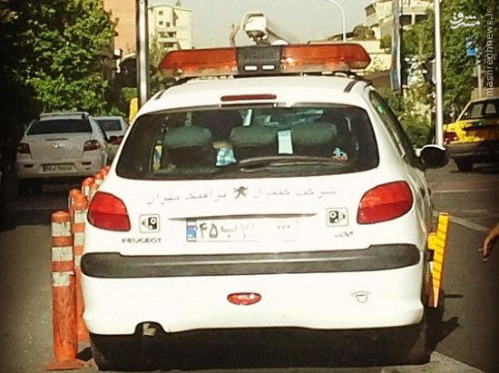 عکس/ ماشین پلیسهای دوربیندار در تهران