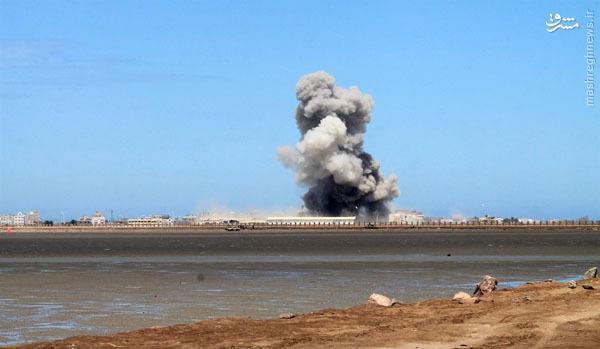 عکس/ شکست سنگین تجاوز دریایی عربستان به عدن