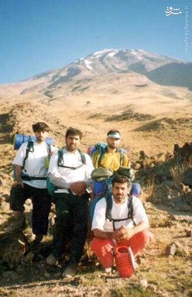 عکس/ قله موشکی ایران در کنار بام ایران