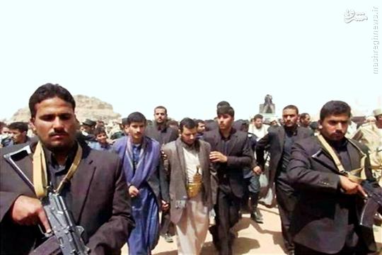عکس/ تیم حفاظتی رهبر انقلاب یمن