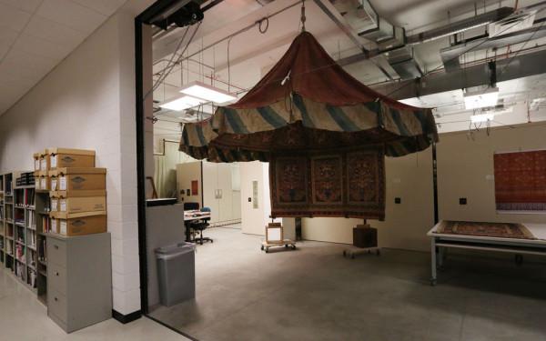 خیمهسلطنتی ایرانی در موزه آمریکا