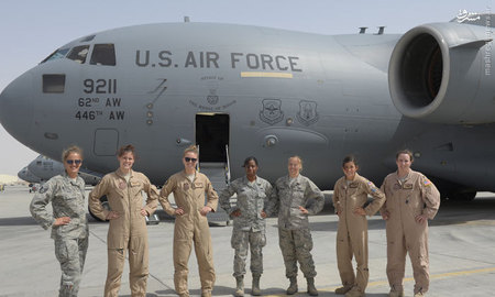 هواپیمای زنانه ارتش آمریکا +عکس