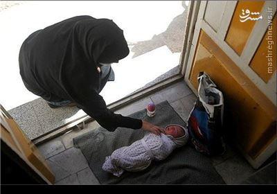 نوزاد ۲۰ روزه پس از شکنجه در پارک رها شد +عکس