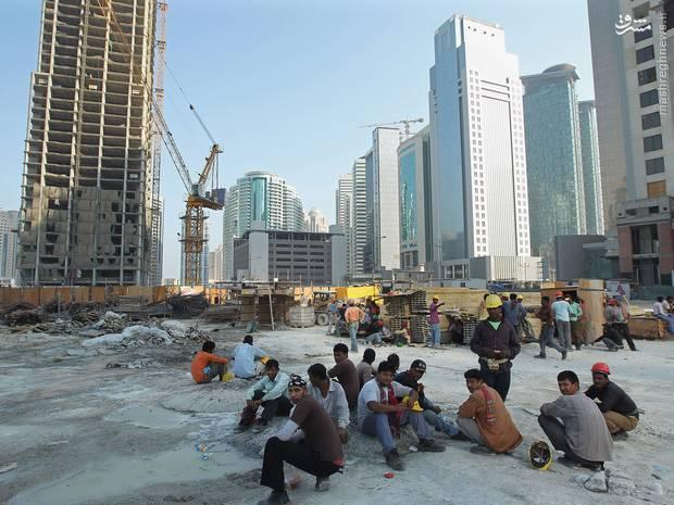 رفتار غیر انسانی قطر با کارگران مصیبت دیده