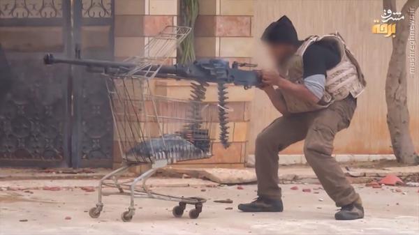 عکس/ سبد خرید یک داعشی