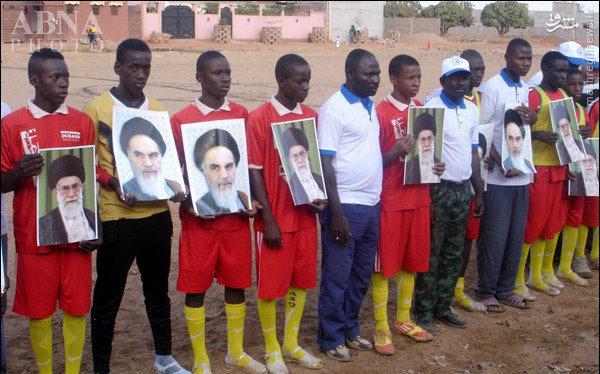 فوتبال«جام امام خمینی(ره)» در آفریقا+ تصاویر