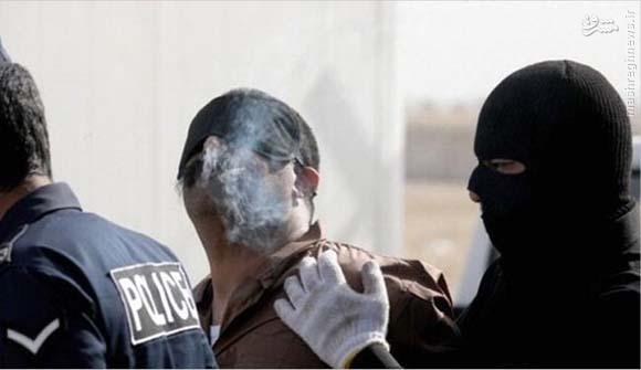 آخرین سیگار قبل از اعدام +عکس