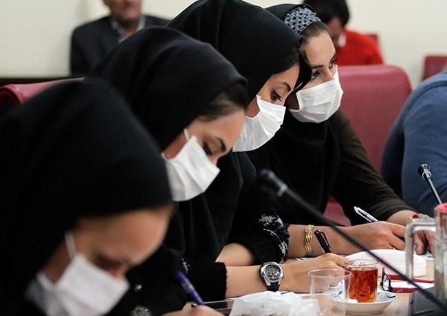 همدلی با همزبانی خاص خانم رئیس با مردم خوزستان + تصاویر