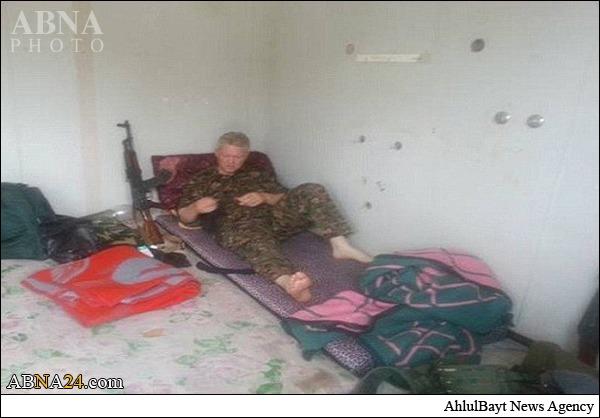هنرپیشه مشهور هالیوود به جنگ با داعش رفت + عکس