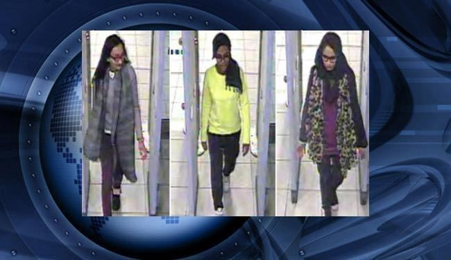 فرار زنان خبرسازجهاد نکاحی انگلیسی از دست داعش