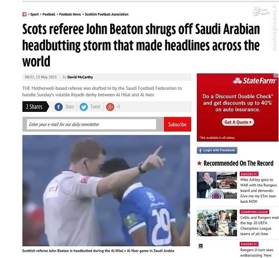 بازتاب گسترده بیاخلاقی سعودیها در اسکاتلند/ محرومیت سنگین در انتظار بازیکن حریف پرسپولیس