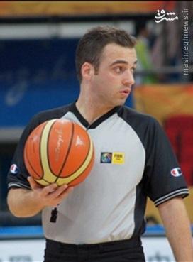 اولین داور تاریخ بسکتبال ایران در لیگ NBA