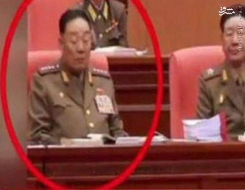 چرتزدن وزیر دفاع کرهشمالی دلیل اعدام+عکس