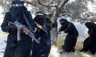 زنان داعشی میتوانند بدون اجازه همسر منفجر شوند