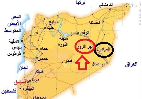 پیوستن تروریستهای تازه نفس به سازمان رزم داعش در دیرالزور!