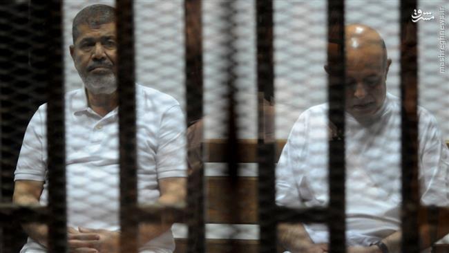 محمد مرسی به اعدام محکوم شد +عکس