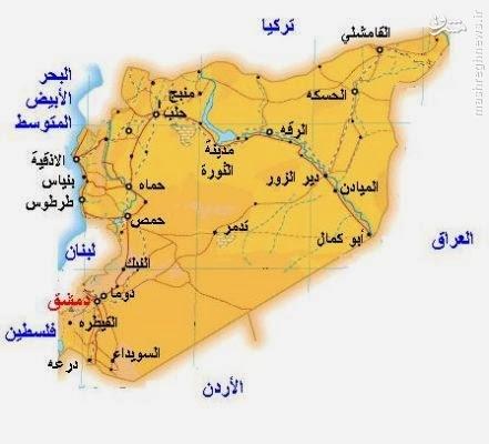 حمله گسترده داعش به شرق استان حمص/نقشه بزرگ داعش برای اتصال مناطق تحت استقرار در سوریه و عراق/محاصره یکصد مدافع حرم در شهر تدمر