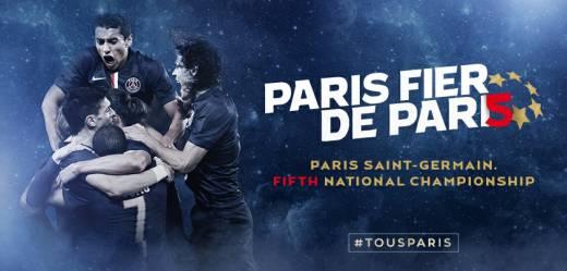 عکس/ تبریک باشگاه پاریسن ژرمن به هواداران