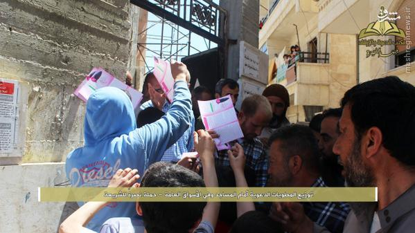 فعالیتهای تبلیغی آزادانه القاعده در سوریه!