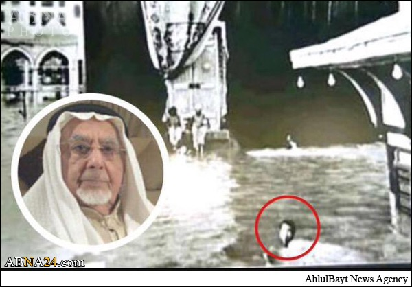 وفات تنها مردی که با شنا، کعبه را طواف کرد + عکس