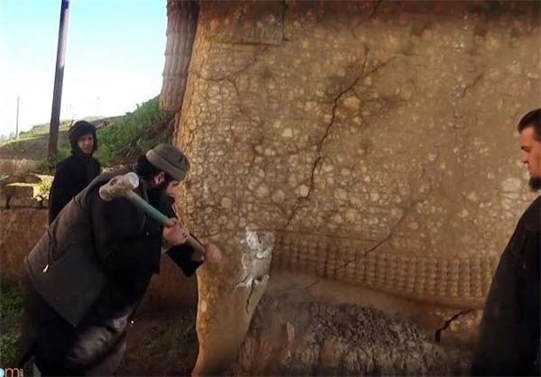جنگ داعش با اشکانیان +عکس