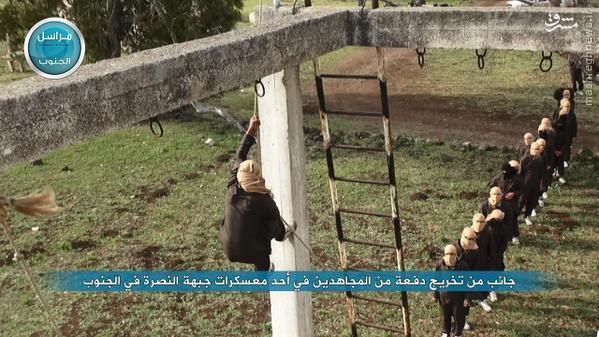 اردوگاه های آموزش نظامی جبهه النصره در شهر ادلب (بخش دوم)/حارس