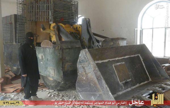 انتحاری های داعش در رمادی
