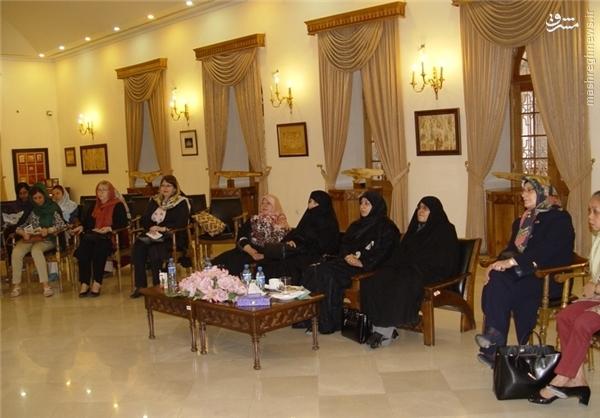 بازدید همسران وزرای کابینه از موزه ارتباطات+عکس